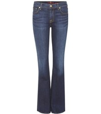 7 For All Mankind The Classic Bootcut Jeans Blue