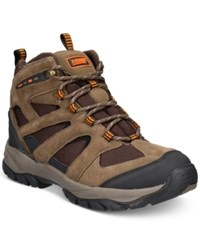 Khombu Men's Terrachee Waterproof Hiker Boots Men's Shoes Brown