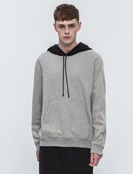 3.1 Phillip Lim Contrast Hoodie With Zipper