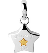 Links Of London Shining Star Sterling Silver Charm