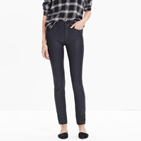 Madewell 9' High Riser Skinny Skinny Jeans Coated Edition