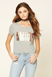 Forever 21 Amore Graphic Tee