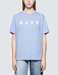 Sjyp Logo Painted S S T Shirt