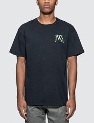J.W.Anderson Jw Anderson Embroideried Logo T Shirt Blue