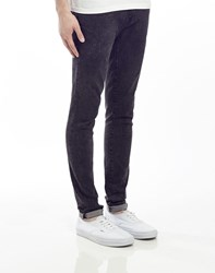 Ray Ban Waven Jeans In Spray On Fit With Acid Wash Grey