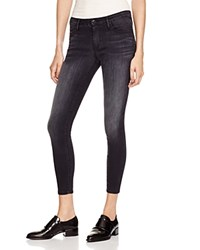 Black Orchid Jude Cropped Jeans In Dark Side