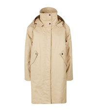 Helmut Lang Utility Faux Fur Lined Parka Female Neutral