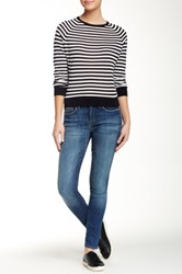 Genetic Denim Daphne Skinny Crop Jean Blue
