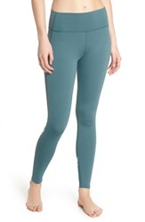 Splits59 Horizon Ankle Leggings Blue Surf Off White