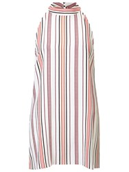Miss Selfridge Striped Tunic Top Multi