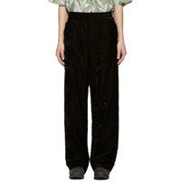 Haider Ackermann Black Cynara Pyjama Trousers
