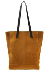 Zign Tote Bag Curry Camel