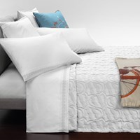 Trussardi Casato Embroidery Duvet Cover Set White King