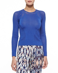 Parker Messina Smooth Open Stitch Sweater X