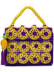 Mercedes Salazar Amanecer Handbag Purple