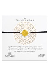 Dogeared Women's The Balance Mandala Bracelet Gold