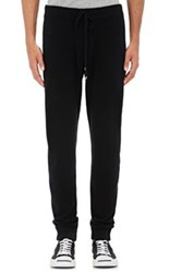 Barneys New York Men's Cashmere Jogger Pants Black