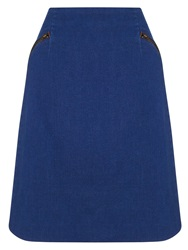 Phase Eight Sapphire Denim Skirt Indigo