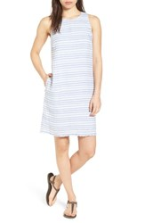Tommy Bahama Bella Hermosa Linen Shift Dress Beachcomber Blue