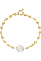 Pippa Small 18 Karat Gold Crystal Choker One Size Gbp