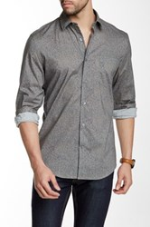 Perry Ellis Speckled Regular Fit Shirt Gray