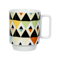 Magpie Viva Mug Diamond Stripes