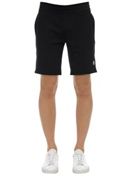 Moncler Cotton Sweatshorts Black