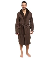 Ugg Brunswick Robe Stout Heather Men's Robe Brown