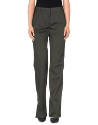 Emilio Pucci Trousers Casual Trousers Women Military Green