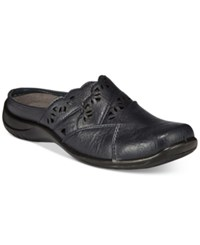 Easy Street Shoes Forever Mules Women's Navy