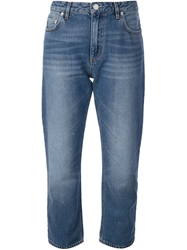 Acne Studios 'Pop' Boyfriend Jeans Blue