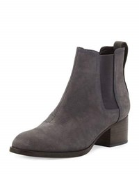 Rag And Bone Walker Nubuck Chelsea Boot Charcoal