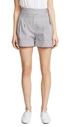 Evidnt Cuffed Shorts Black Stripe