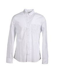 Filippa K Long Sleeve Shirts White