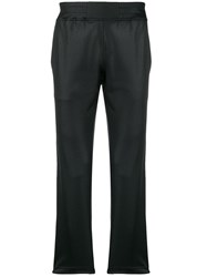 Roberto Cavalli Logo Side Stripe Track Trousers Black