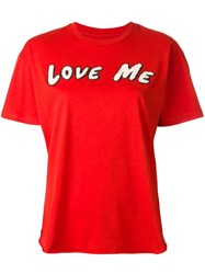 Sandrine Rose Love Me T Shirt Red