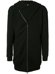 Private Stock Zipped Hooded Coat Black