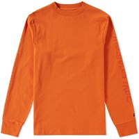 Vans Vault X Our Legacy Long Sleeve Tee Orange