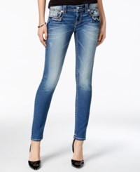 Miss Me Medium Blue Wash Skinny Jeans