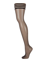 Linea Matt 10 Den Hold Ups Black