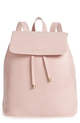 Estella Bartlett Faux Leather Backpack Pink Pink Red