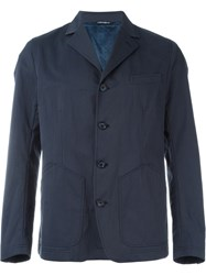 Dolce And Gabbana Classic Jacket Blue