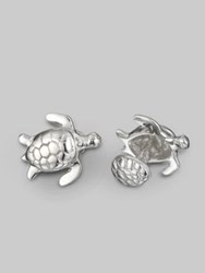 Robin Rotenier Turtle Cuff Links