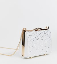 90108cdb749 Aldo Etrotard White Occasion Lace Clutch Bag