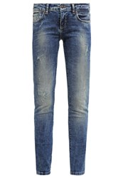 Ltb Clara Slim Fit Jeans Adra Wash Blue Denim