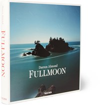 Taschen Full Moon Photographs By Darren Almond Hardcover Book Blue