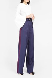 Roksanda Ilincic Women S Tillae Trousers Boutique1 Navy