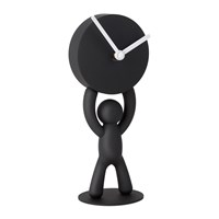 Umbra Buddy Desk Clock Black
