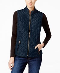 Charter Club Quilted Puffer Vest Only At Macy's Intrepid Blue