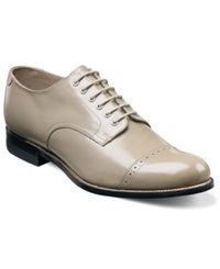 Stacy Adams Madison Cap Toe Oxfords Men's Shoes Taupe